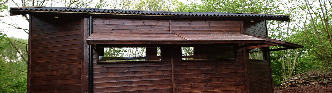 Bird Hide, Warwickshire Wildlife Trust