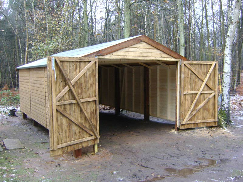 Garages & Oak Cart Sheds By Custom Made Wooden Buildings